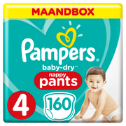 Pampers 81666564 disposable diaper Boy/Girl 4 160 pc(s)