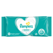 Pampers Sensitive Baby Wipes 1 Packs = 52 Wipes