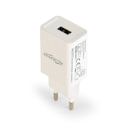 Gembird EG-UC2A-03-W mobile device charger White Indoor