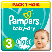 Pampers Active Baby-Dry 81657823 disposable diaper Boy/Girl 3 198 pc(s)
