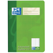 Oxford 100302812 writing notebook A5 Red