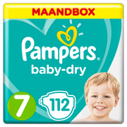 Pampers 81664580 disposable diaper Boy/Girl 7 112 pc(s)