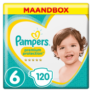 Pampers 81665960 disposable diaper Boy/Girl 6 120 pc(s)