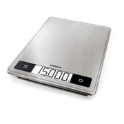 Soehnle Page Profi 200 Stainless steel Countertop Rectangle Electronic kitchen scale