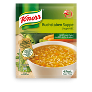 Knorr Buchstaben Suppe Nudelsuppe