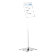 Durable Duraview Information stand A3 Silver
