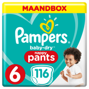 Pampers 81666566 disposable diaper Boy/Girl 6 116 pc(s)