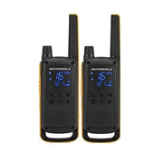 Motorola Talkabout T82 Extreme Twin Pack two-way radio 16 channels Black, Orange