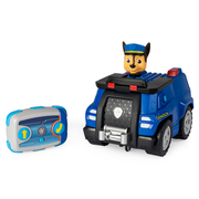 PAW Patrol , Chase Remote Control Police Cruiser with 2-Way Steering, for Kids Aged 3 and Up