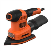 Black & Decker BEW200K Multi sander 12000 RPM Black, Orange
