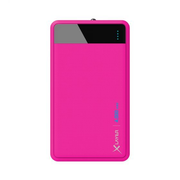 XLayer Colour Line power bank Lithium Polymer (LiPo) 4000 mAh Pink