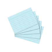 Herlitz 10836237 index card Blue 1 pc(s)