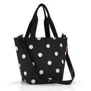 Reisenthel Shopper XS Polyester Black, White Woman Shopper bag