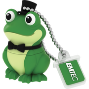Emtec M339 Crooner Frog USB flash drive 16 GB USB Type-A 2.0 Black, Green