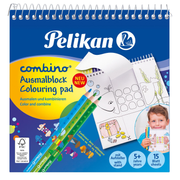 Pelikan 811231 colouring pages/book Coloring picture set