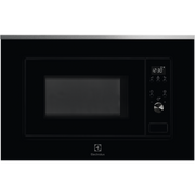 Electrolux LMS2203EMX Countertop Solo microwave 20 L 700 W Black, Stainless steel