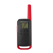 Motorola TALKABOUT T62 two-way radio 16 channels 12500 MHz Black, Red