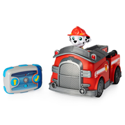 PAW Patrol , Marshall Remote Control Fire Truck with 2-Way Steering, for Kids Aged 3 and Up