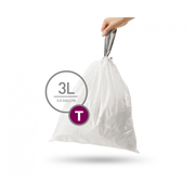 simplehuman CW0216 trash bag 3 L White 40 pc(s)