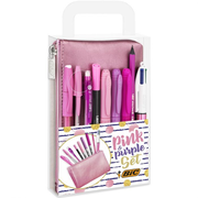 BIC Pink & Purple Party Set
