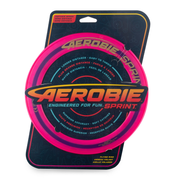 Aerobie Sprint Ring Outdoor Flying Disc - 10 Inches - Magenta