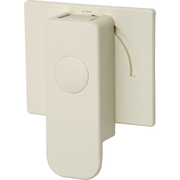 ABUS JC4600 child safety lock Child door knob cover/lock White