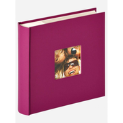 Walther Design ME-110-Y photo album Violet 200 sheets