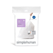 simplehuman CW0169 trash bag 45 L White 20 pc(s)