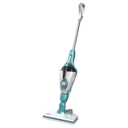 Black & Decker FSM1615-QS steam cleaner Upright steam cleaner 0.35 L 1300 W Blue, Stainless steel, White