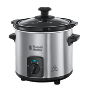 Russell Hobbs 25570-56 slow cooker 2 L 145 W Black, Stainless steel