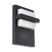 EGLO 98088 wall lighting Suitable for outdoor use E27 10 W Anthracite