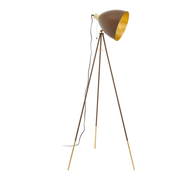EGLO Chester 1 floor lighting E27 Brown, Gold