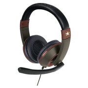 Gioteck XH-100 Headset Head-band 3.5 mm connector Brown, Green