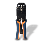 AISENS A142-0311 cable crimper Crimping tool Black, Blue, Orange