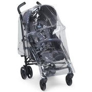 Chicco 060.79510.000.000 Kinderwagen-Regenschutz Transparent