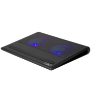 """Rivacase 5557 notebook cooling pad 43.9 cm (17.3"""") 1100 RPM Black"""