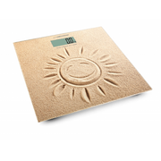 Esperanza EBS006, Electronic personal scale, 180 kg, kg, lb, ST, Square, Beige, Tempered glass