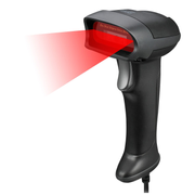 Adesso NuScan 2500CU - Spill Resistant Antimicrobial CCD Barcode Scanner