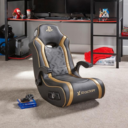 X Rocker Gold 2.1 Floor Rocker Console gaming chair Padded seat Black