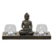 Boltze 2851900 candle holder Synthetic resin Bronze