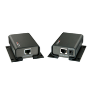 Lindy 42700 AV extender AV transmitter & receiver Black