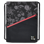 Herlitz be.bag be.daily, Girl, School drawstring bag, High school, Black, Grey, Pink, Polyester, Pattern