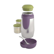 Chicco 60181000000 baby food container Green, Violet