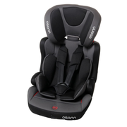 Osann Lupo Isofix baby car seat 1-2-3 (9 - 36 kg; 9 months - 12 years) Black