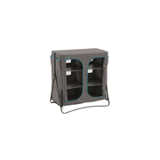 Easy Camp 540025 camping cupboard Grey 6 shelves Foldable
