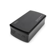 Digitus DA-71117 storage drive enclosure HDD enclosure Black 3.5""