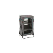Easy Camp 540026 camping cupboard Grey 3 shelves Foldable