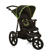 Hauck Runner, Canopy, Any gender, Solid wheels, Foldable, Black