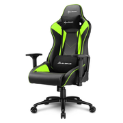Sharkoon ELBRUS 3 Universal gaming chair Padded seat Black, Green