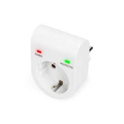 Digitus DN-95400 surge protector White 1 AC outlet(s) 230 V